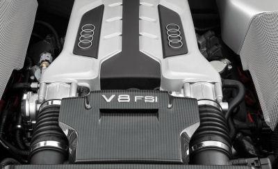 Photo de supercar Audi R8: organes mécaniques, moteurs